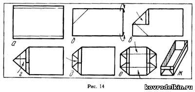 Как сделать прямоугольную коробку из бумаги своими руками
